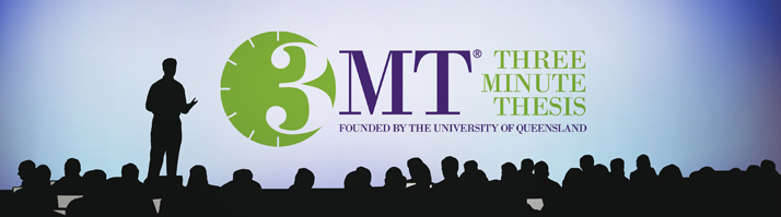 Three Minute Thesis Banner