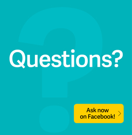 Ask us on facebook- small