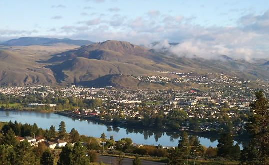 View of Kamloops