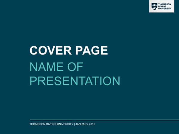 Powerpoint report templates brand downloads thompson rivers ppt 1 toneelgroepblik Image collections