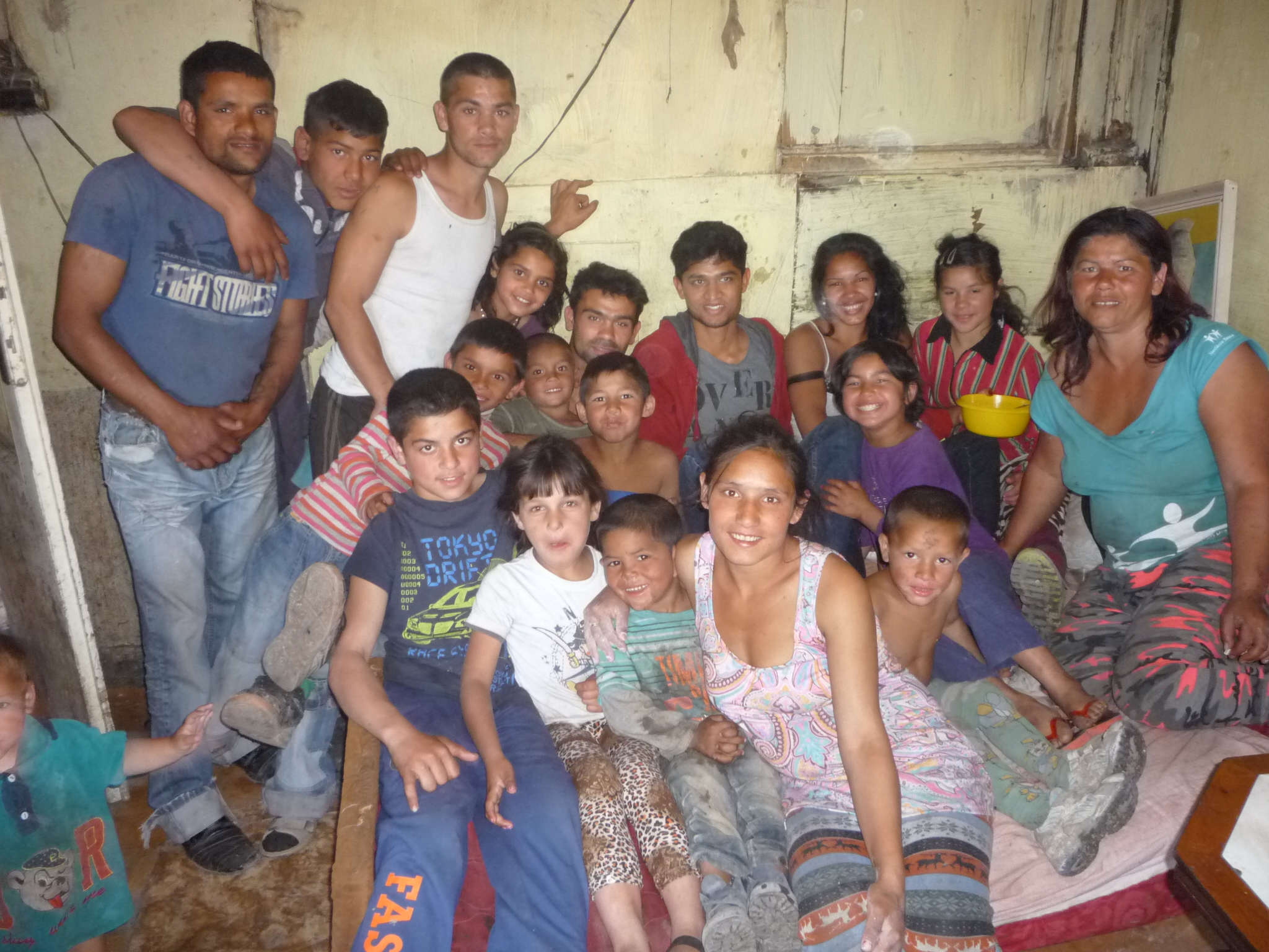 Nahush with host family