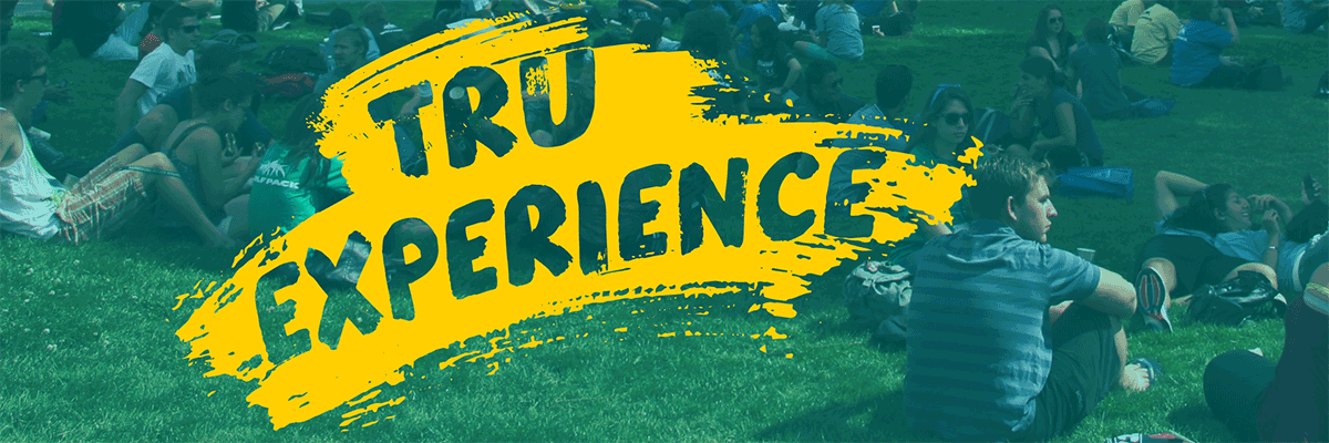 TRU Experience Banner