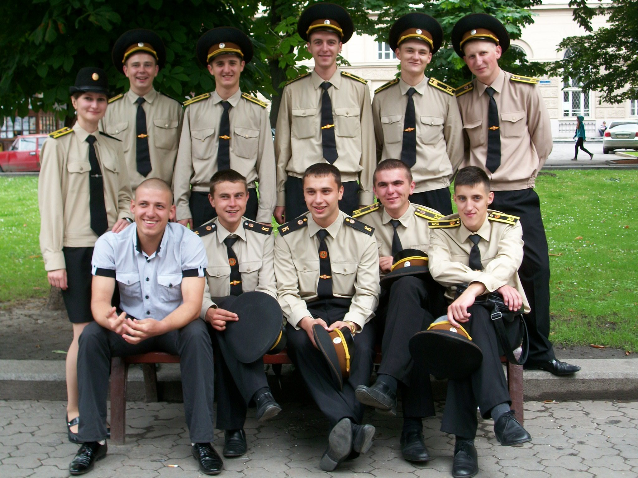 Ukraine army recruits